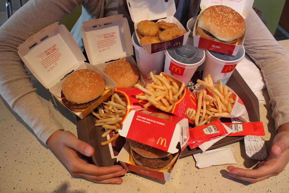McDonalds Darwin Family Menu