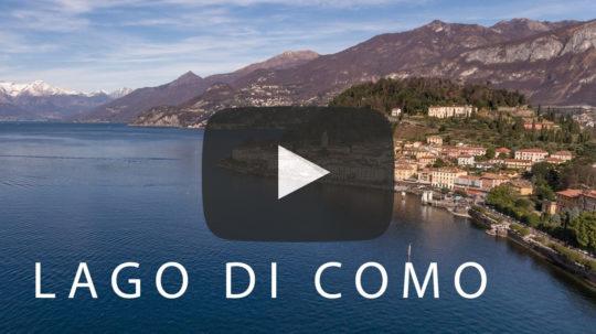 Lago di Como (Comer See) in 4K