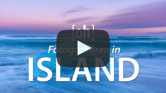 Fotografieren in Island: